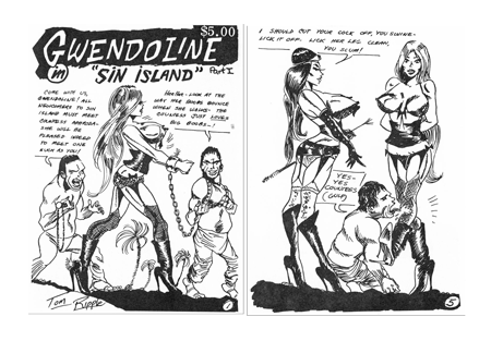 Bondage cartoon gwendoline — pic 4