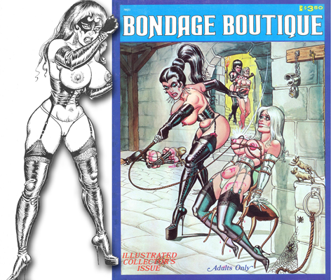 bondage cartoon ward
